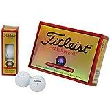 TITLEIST(タイトリスト) HVC SOFT DISTANCE ゴルフボール 12個 2ピース 飛距離&ソフトボール  1HVSD-J ホワイト ランキングお取り寄せ