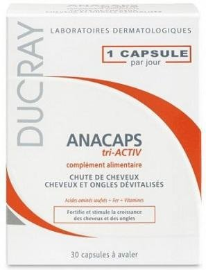 DUCRAY Anacaps Tri-ACTIV Capsules x30 Anti Hair Loss Treatment fast hair growthDUCRAY Anacaps Tri-ACTIV Capsules x30 Anti Hair Loss Treatment fast hair growth Good Quality for Everyone Fast Shipping Ship Worldwide