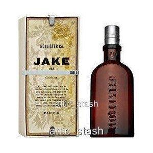 Hollister ~ Jake ~ Men Cologne 1.7 oz / 50 ml New in Box Spray