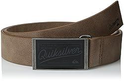 Quiksilver Men's Locked In Belt, Chocolate, Large/36