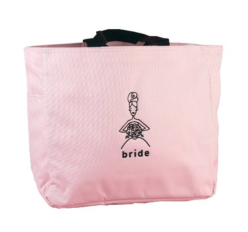 Hortense B. Hewitt Wedding Accessories Bride's Pink Tote Bag