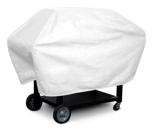 KoverRoos DuPont Tyvek 23057 Supersize Barbecue Cover, 29-Inch Diameter by 76-Inch Width by 45-Inch Height, White