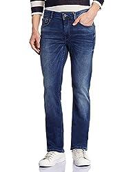 Pepe Jeans Men's PM201721F604 Slim Fit Jeans (8903872718627_PM201721F604_32W x 34L_Mid-Blue)