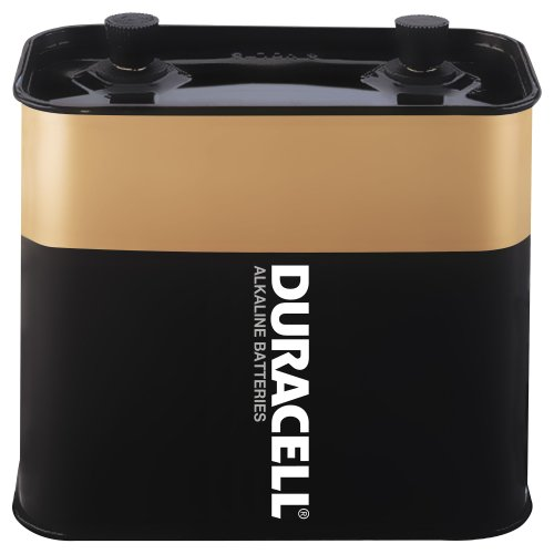Duracell Mn918 Alkaline-Manganese Dioxide Battery, Lantern Size, 6V (Case Of 4)