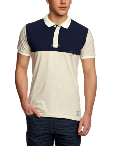 Jack and Jones Proud Polo Short Sleeve Core 1-2-3 2013 Men's T-Shirt Deadstock Melange Medium