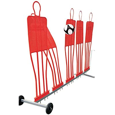 Diamond Football Company Mannequin Portable Trolley - Silver