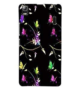 ColourCraft Printed Design Back Case Cover for LENOVO A7000 TURBO