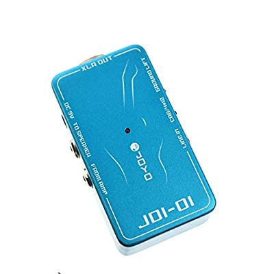 JOYO JDI-01 DI Box with Amp Simulation for Acoustic or Electric Guitar