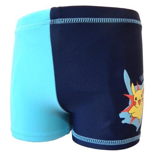 Boxer da bagno, motivo: Pokémon blu 4 anni