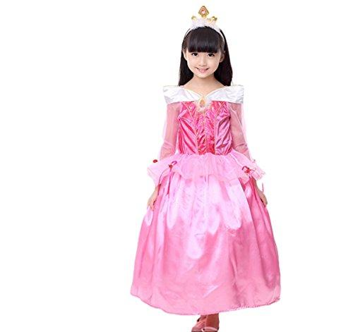 Sleeping beauty 眠れる森の美女 プリンセス ピンク オーロラ姫 子供 ドレス