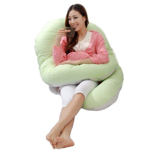 Leyun Bamboo Fiber 360 Degrees Pregnant Women Pillow front-1078470