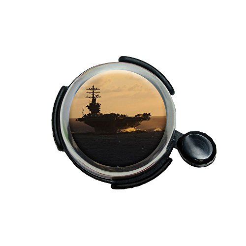 United States Navy Aircraft Carrier Uss Nimitz Bicycle Handlebar Bike Bell