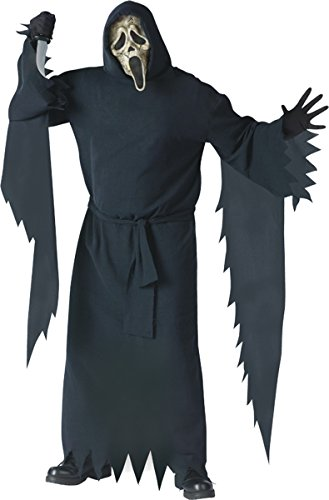 Collector's Edition Zombie Ghost Face Costume - Plus Size - Chest Size 48-53