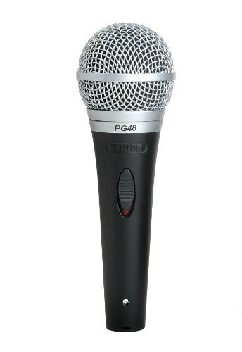 Shure Pg48-Lc Vocal Dynamic Microphone, Cardioid Style: Pg48-Lc