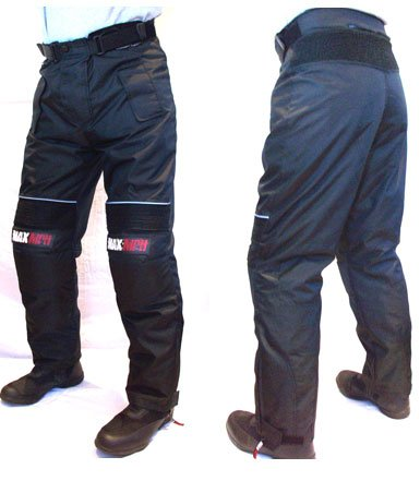 MAX MPH STORM Textile Cordura Motorcycle, Scooter Jeans / Trousers - armour, waterproof  &  breathable