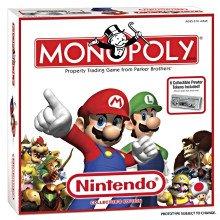 Nintendo Super Mario Brothers Exclusive Collectors Monopoly Set