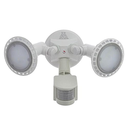 home zone motion activated led security light 2500 lumens manual