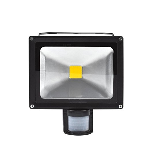 Popular 20W Warm White Floodlight Ac 85-265V Waterproof Led Flood Light Induction Sense Lamp front-209636