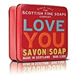 Scottish Fine Soaps Soap in a Tin Love You