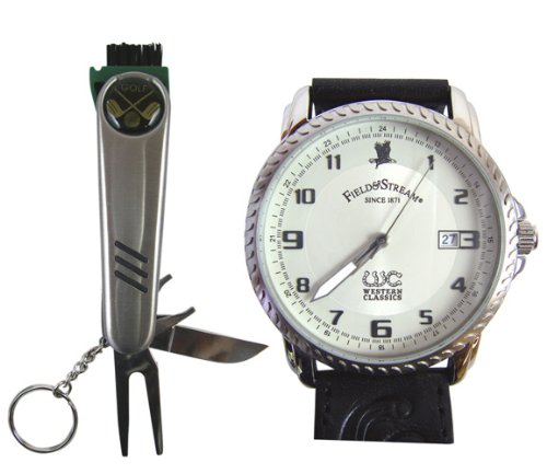 Field & Stream Outdoor Rugged Watch With Golf Tool Pocket Knife at Sears.com