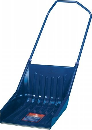 Review Ames True Temper 1600900 Steel Avalanche Ergo Sleigh Snow Shovel with Wear Strip
