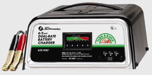 Backup Battery For Amp Meter : Dual rate amp manual battery power charger meter