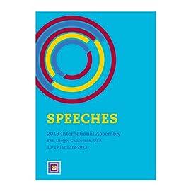 2013 International Assembly Speeches DVD