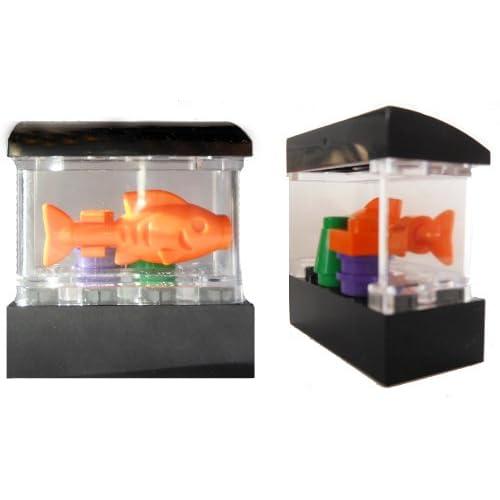 Lego fish aquarium tank mini figure accessory rare toys for Toy fish tank