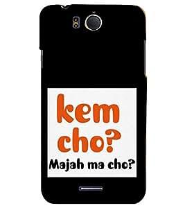 PRINTSHOPPII KEM CHO Back Case Cover for InFocus M530