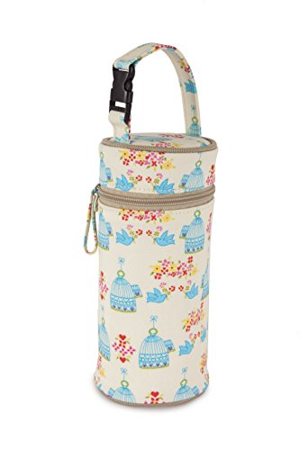 Pink Lining Bottle Holder, Birdcage