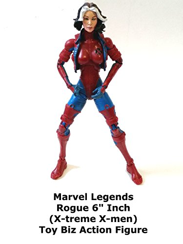 "Marvel Legends ROGUE X-treme X-men Review 6"" inch action figure toy"