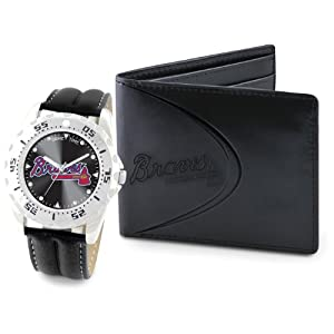 Game Time Unisex MLB-WWS-SEA Wallet and Seattle Mariners MLB Watch Set by Game Time
