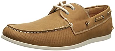 Madden Men's M-Gameon Boat Shoe,Cognac,7 M US
