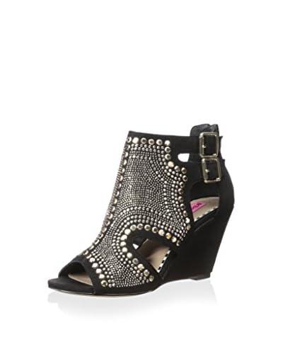 Betsey Johnson Women's Dazzzler Studded Sandal