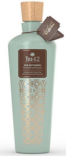 Premium Caffeine Shampoo Made From Organic Green Tea Extract 12 oz, by Tea42 (Caffeine Extract Hair compare prices)