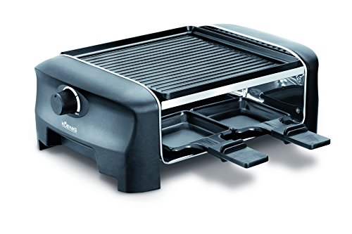 koenig b02219e raclette gourmet 4 raclette grill tests. Black Bedroom Furniture Sets. Home Design Ideas