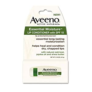 Aveeno Lip Conditioner Essential Moisture SPF#15 .15 oz.