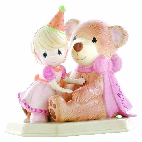 Precious Moments Happy Birthday Girl Ceramic