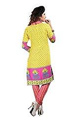Vastrangam Printed Dress Material