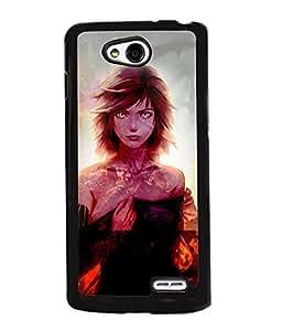 Fuson 2D Printed Girly Designer back case cover for LG L90 - D4622