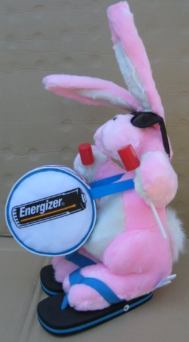 Energizer Bunny with Drum Stuffed Animal Plush Toy Collectible - About 21 inches tall