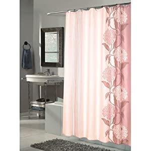 Carnation Home Fashions, Inc Carnation Home Fashions Chelsea Extra Long Printed Fabric Shower Curtain, 72-Inch by 84-Inch at Sears.com