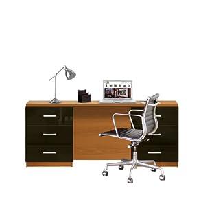 Amazon Com Lafayette Computer Desk Contemporary 6 Foot