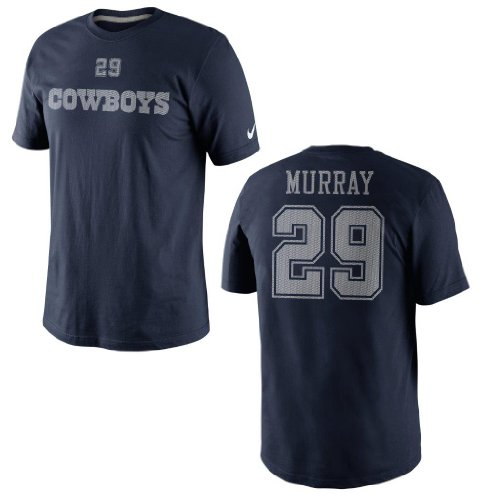 Dallas Cowboys DeMarco Murray Youth Tee 2 Nike Navy Name and Number T-Shirt Youth Size: Youth L at Amazon.com