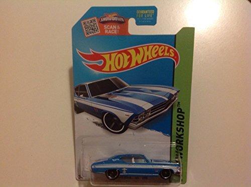 Hot Wheels Kmart Exclusive HW Workshop '69 Chevelle SS 396 Light Blue/White #231/250