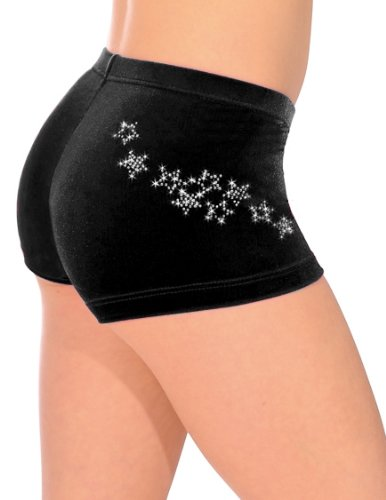 the-zone-z2000rox-smooth-velour-lycra-hipster-shorts-black-size-30