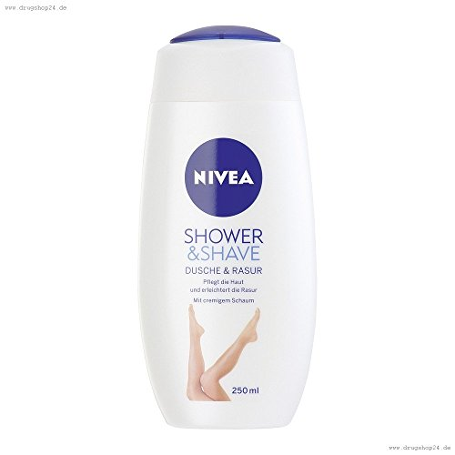Nivea Body Shower & rasatura Shave doccia & 250 ml