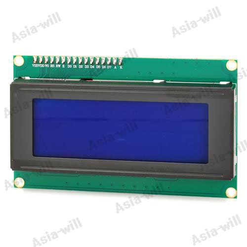 "5V Iic / I2C 3.1"" Blue Screen Lcd Display Module For Arduino - Green + Black"