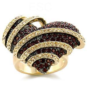 Jewelry - Love on Fire CZ Ring SZ 7