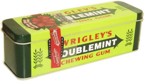 Wrigley Heritage Collectible Chewing Gum Tin
